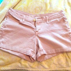 Mauve/Rose Pink Jean shorts